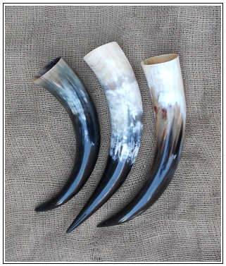 viking drinking horns
