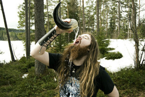 a drinking horn
